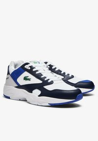 Lacoste - STORM 96  - Sneakers - white/navy - 1