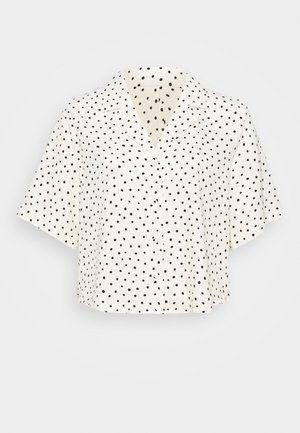TANI BLOUSE - Button-down blouse - white