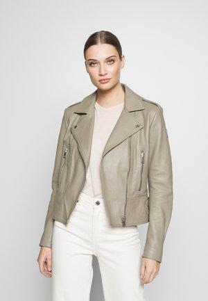 MARVINGT - Leather jacket - taupe