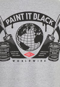 Obey Clothing - OBEY PAINT IT BLACK - Printtipaita - heather grey - 2