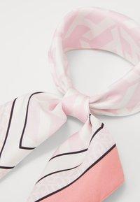 Tommy Hilfiger - MONOGRAM FRAME SQUARE - Foulard - pink - 2