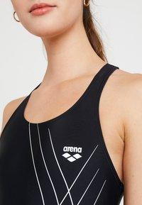 Arena - SOUL SWIM PRO BACK ONE PIECE - Swimsuit - black - 5