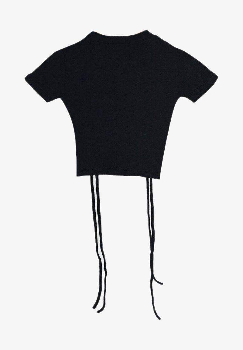 Trendyol - T-shirt basic - navy blue