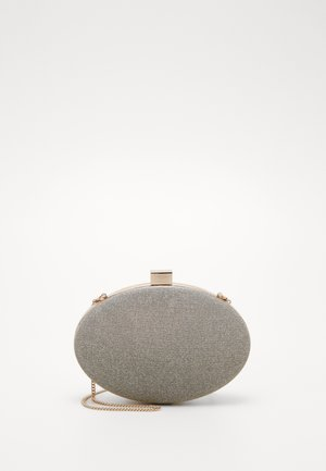 ALEXA REFLECTIVE OVAL - Clutch - gold/silver