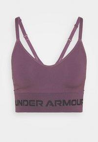 SEAMLESS LOW LONG BRA - Light support sports bra - purple