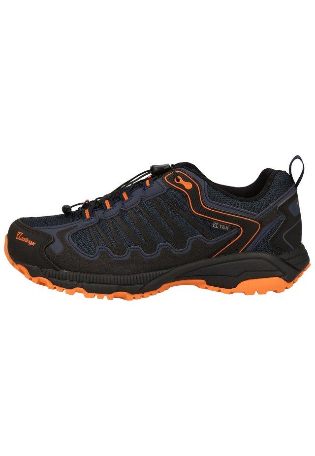 KASTINGER WANDERSCHUHE - Hiking shoes - dk.navy/orange 455