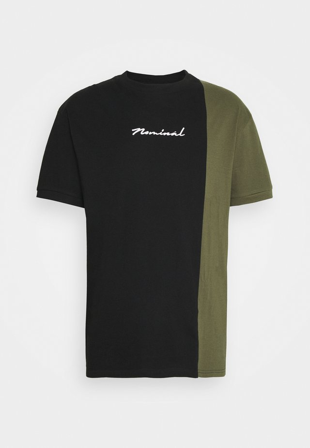 SPLIT - T-shirt print - black