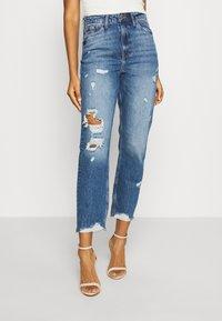 River Island - Jeans Slim Fit - blue denim - 0