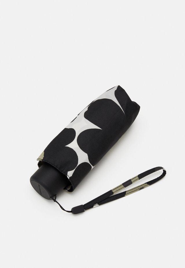 MINI UNIKKO MANUAL UMBRELLA - Sateenvarjo - white/black/olive
