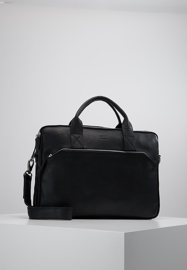 DUST BRIEF 2 ROOM - Briefcase - black