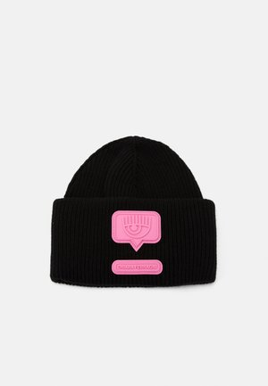 PATCH BEANIE - Beanie - black