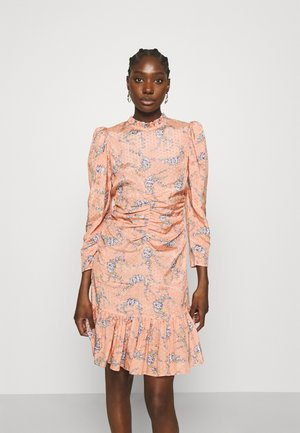 DELICATE GATHERS DRESS - Day dress - pink