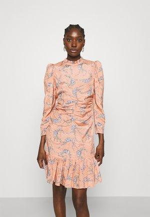 DELICATE GATHERS DRESS - Korte jurk - pink