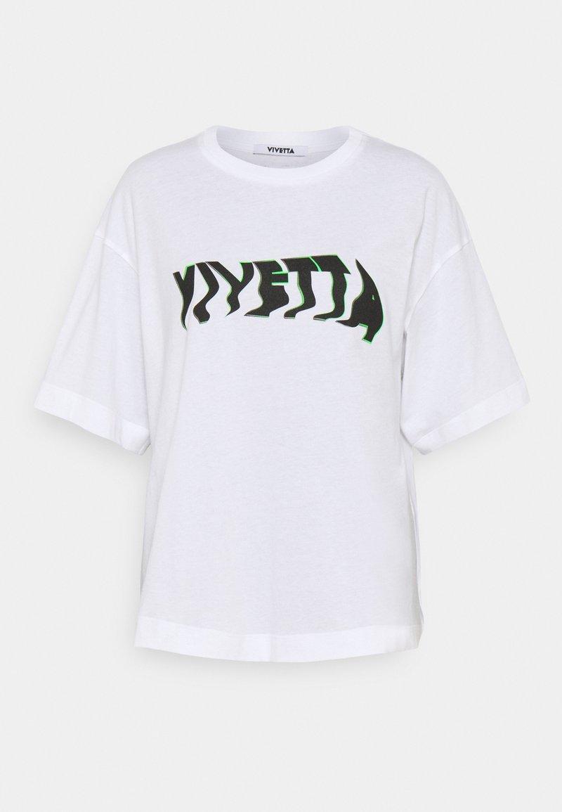 Vivetta - LOGO - T-shirt print - white