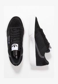 adidas Originals - CONTINENTAL VULC  - Zapatillas - cblack/ftwwht/cblack - 1