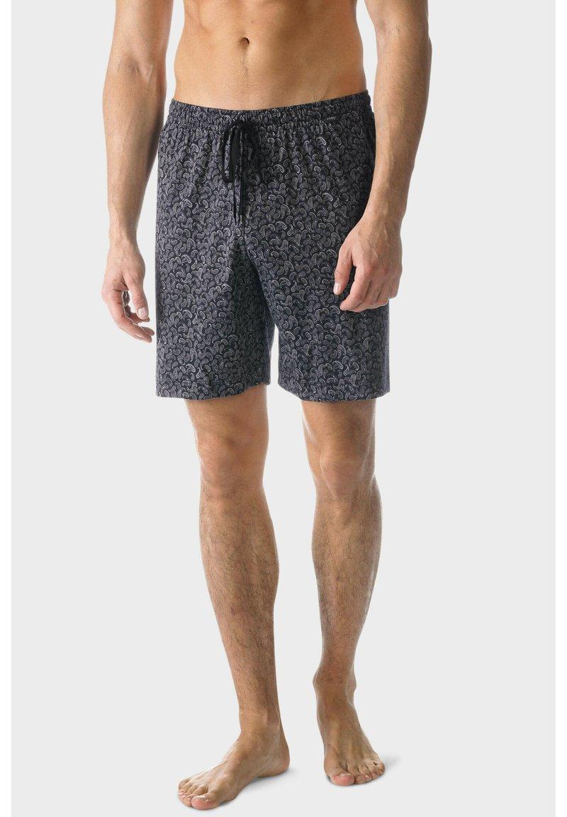 mey - Pyjamabroek - schwarz