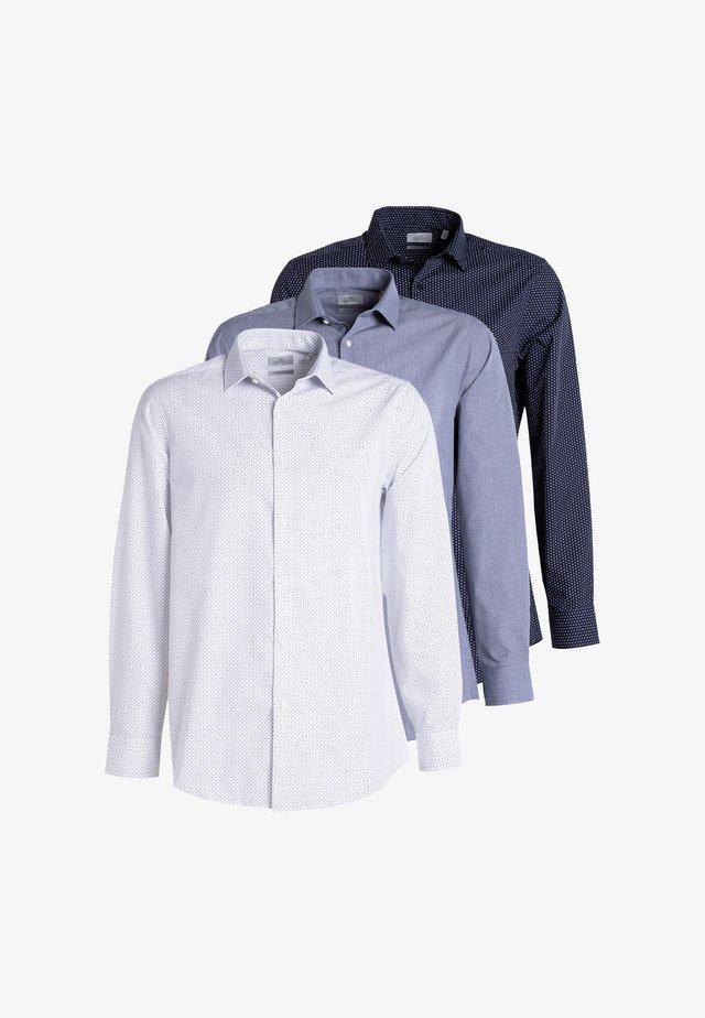 THREE PAC - Formální košile - blue