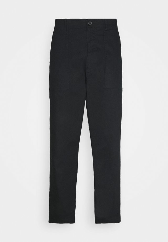 FANON TROUSERS - Trousers - black