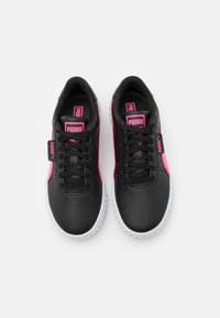 Puma - CALI SPACE JR UNISEX  - Trainers - black/glowing pink - 3
