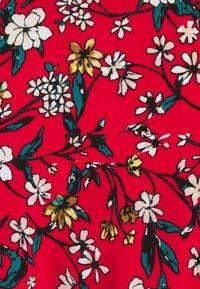 Vero Moda - VMSIMPLY EASY TIE SHORT DRESS - Robe d'été - goji berry/lotte - 2