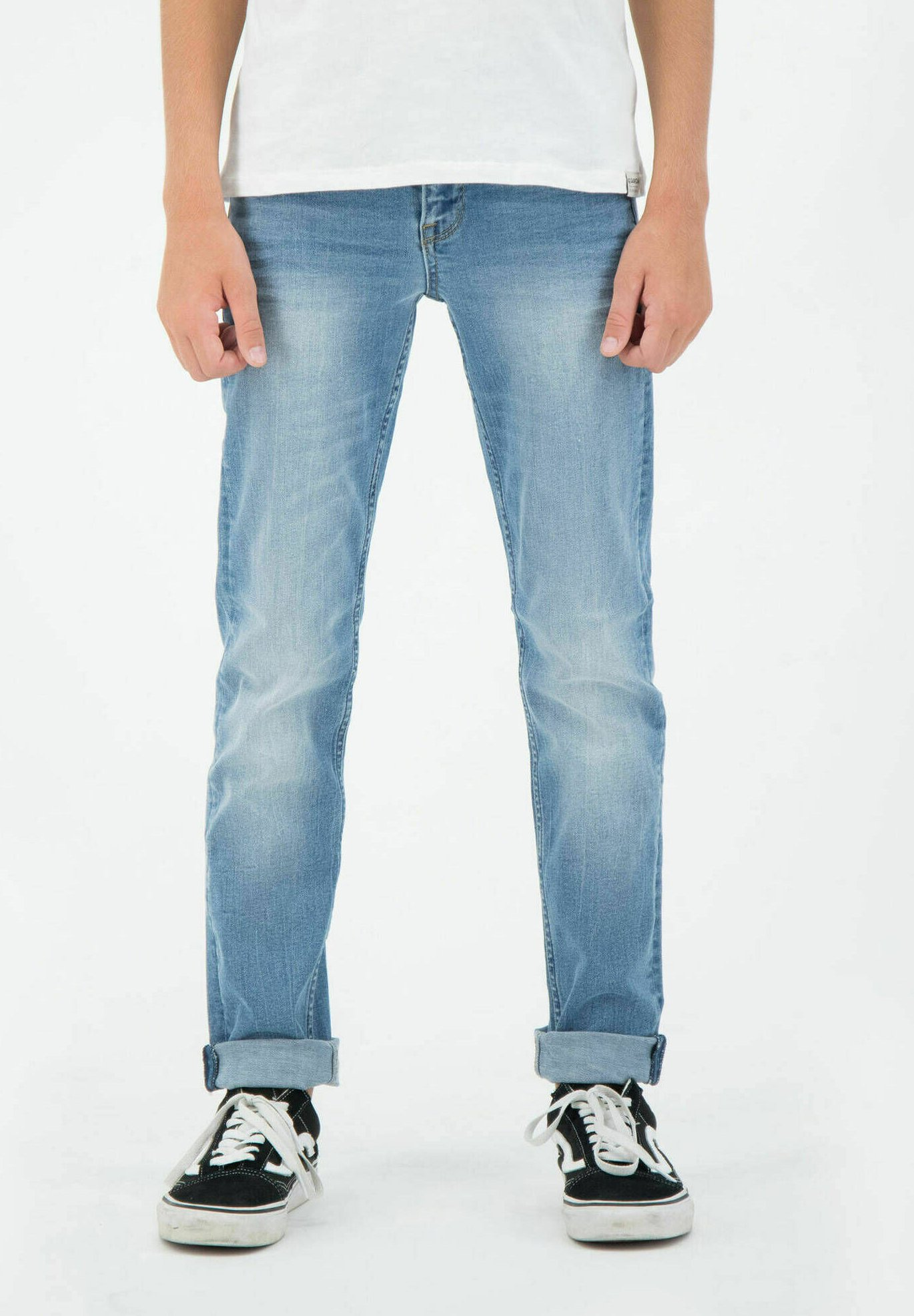 Kinder TAVIO - Jeans Slim Fit - stoned blue