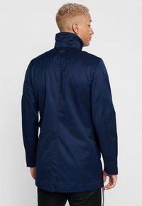 G-Star - GARBER SERVICE TRENCH - Short coat - sartho blue - 2