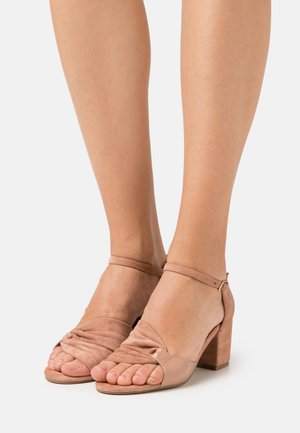 BIACATE MIX - Sandals - rose