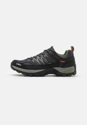 RIGEL LOW TREKKING SHOES WP - Hiking shoes - antracite/torba