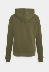 Marc O'Polo DENIM - LONG SLEEVE HOOD - Sweatshirt - fresh olive - 1
