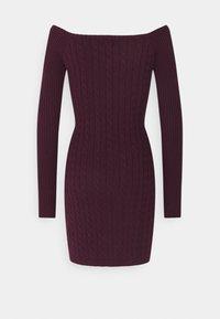 Glamorous Petite - LADIES DRESS  - Jumper dress - plum purple - 1