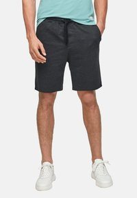 QS by s.Oliver - Shorts - black heringbone - 3