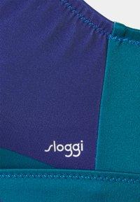 Sloggi - WOMEN SHORE KIRITIMATI - Bikini top - blue/dark combination - 2