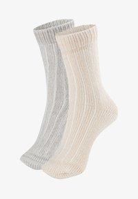 OYSHO - 2 PACK - Socks - light grey - 4