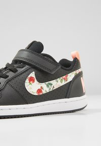 Nike Sportswear - COURT BOROUGH LOW - Trainers - black/pale ivory/pink tint - 2