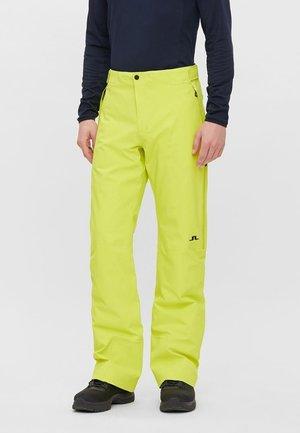 Pantalon de ski - leaf yellow