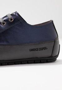 Candice Cooper - ROCK - Sneakers basse - lux notte/tamponato antracite - 2