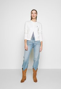 Polo Ralph Lauren - CARDIGAN LONG SLEEVE - Chaqueta de punto - collection cream - 1