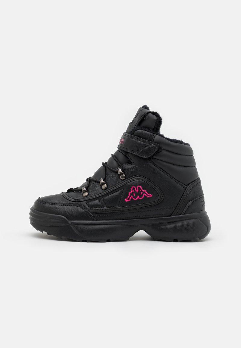 Kappa - SHIVOO ICE UNISEX - Trekingové boty - black/pink