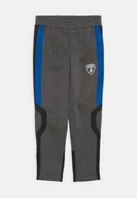 Automobili Lamborghini Kidswear - PANTS WITH CONTRAST INSERTS - Tracksuit bottoms - grey estoque - 0