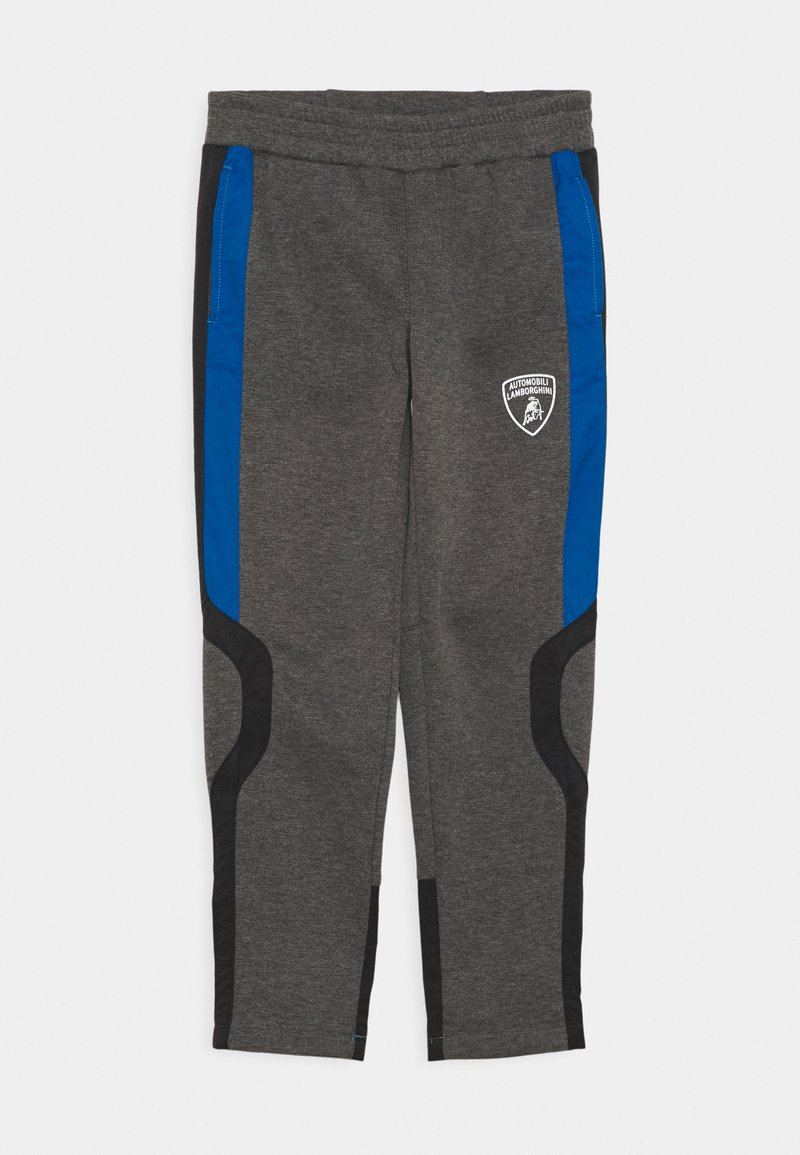 Automobili Lamborghini Kidswear - PANTS WITH CONTRAST INSERTS - Tracksuit bottoms - grey estoque