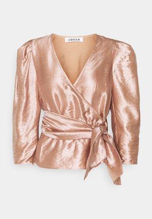 WEDA BLOUSE - Blouse - rosé