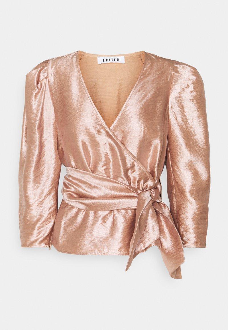 EDITED - WEDA BLOUSE - Blouse - rosé