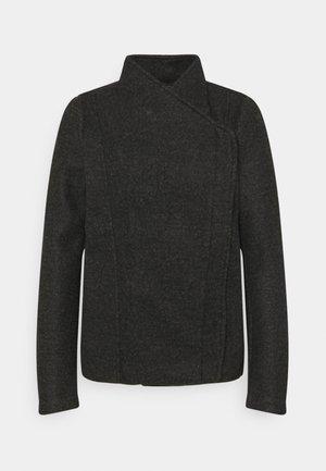 VMBRUSHEDKATRINE BIKER  - Light jacket - dark grey melange