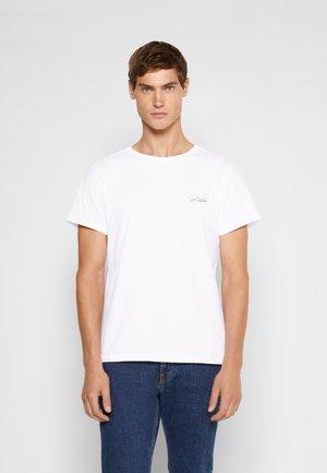 POITOU ARTISTE - T-shirt basique - white