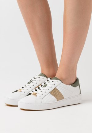 COLBY - Sneaker low - army green/metallic