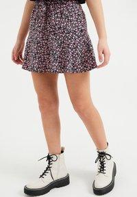 WE Fashion - SKORT - Mini skirt - multi-coloured - 0