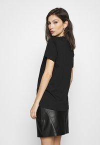 Diesel - Print T-shirt - black - 2