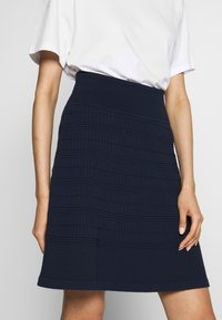 HUGO - SHANAHAN - A-line skirt - open blue - 4