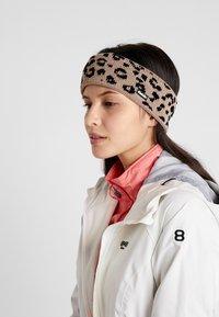 Eisbär - LEORA - Ear warmers - beigemeliert/schwarz - 1