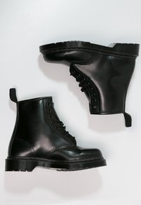 Dr. Martens - 1460 - Šněrovací kotníkové boty - mono black - 1